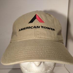American Tower Strapback Hat Cap